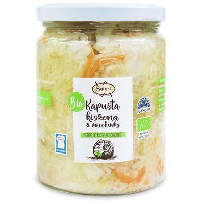 Zdrowa żywność SĄTYRZ (warzywa kiszone) biogo.pl - tylko natura