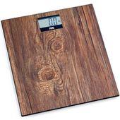 Waga łazienkowa elektroniczna do 180 kg holly ade drewniany wzór (ad-be 2004)