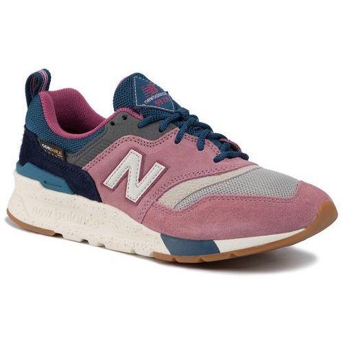 New balance Sneakersy - cw997hxf kolorowy różowy