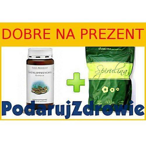 04 - Gotowy pakiet na prezent dla biegacza - Spirulina i omułek zielonowargowy - bogactwo protein i ochrona stawów