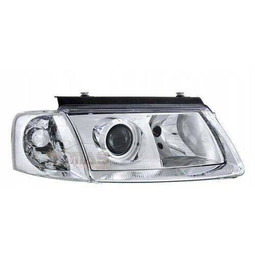 Lampy Przednie Reflektory Vw Passat B5 3b Chrom Depo