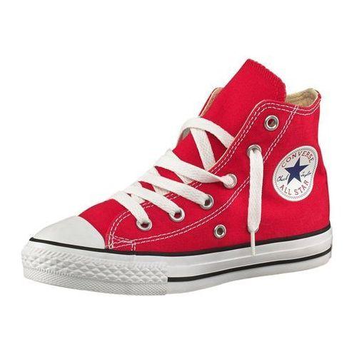 CONVERSE Trampki 'Chuck Taylor Allstar' czerwony / czarny / biały, kolor czerwony