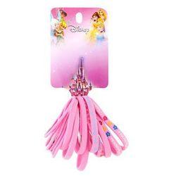 Lora beauty  disney princess różowe gumki do włosów mix