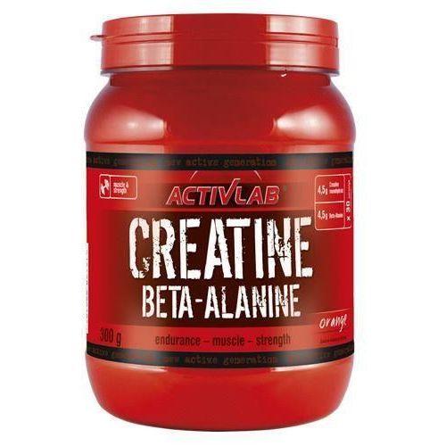 ACTIVLAB Creatine + Beta Alanine - 300g - Orange