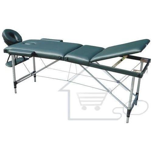 Łóżko do masażu Stół do masowania zielone kolor zielony