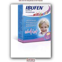 Ibufen mini Junior 100mg kapsułki miękkie 15szt. (5909991195199)