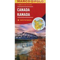 Kanada 1:4 000 000 - MARCO POLO, oprawa kartonowa
