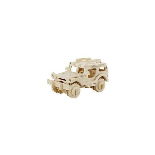 Puzzle drewniane 3D Jeep  6946785101607