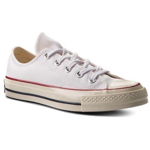 ea50d7bd3c662 Trampki CONVERSE - Ctas 70 Ox 162065C White/Garnet/Egret, kolor biały -
