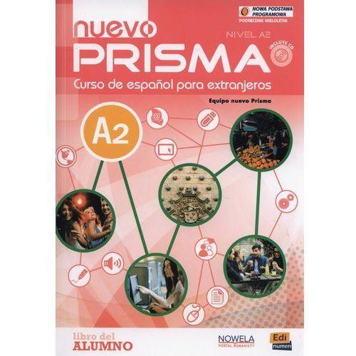 Nuevo prisma A2 Podręcznik wieloletni + CD, oprawa miękka