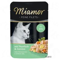 MIAMOR Feine Filets tuńczyk z kalmarami - saszetka 24x100g