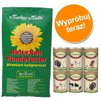 Pakiet próbny: 15 kg Markus Muhle + 6 x 400 g Pakiet mieszany Lukullus - Black Angus Adult (4032314030516)