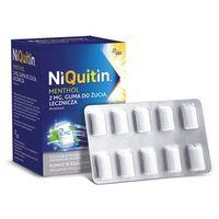 Niquitin MENTHOL 2mg guma do żucia lecznicza 100szt