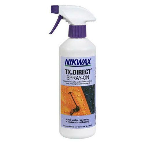 Impregnat do odzieży przeciwdeszczowej NIKWAX - TX.Direct® Spray-On 300 ml. (5020716571002)