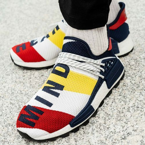 Buty sportowe męskie adidas BBC Hu NMD (BB9544), kolor wielokolorowy