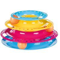 Trixie catch the balls zabawka dla kota - Ø x wys.: 25 x 13 cm| -5% rabat dla nowych klientów| darmowa dostawa od 99 zł (4011905413457)