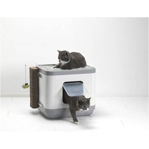Yarro cube multi box domek, toaleta, legowisko dla kota z materacem termoelastycznym