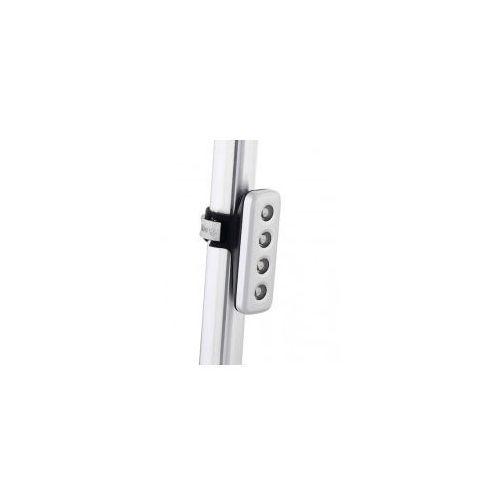 KNOG BLINDER 4V standard SILVER - tylna lampka rowerowa, 440