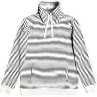 bluza ROXY - Worlds Away Stripe Anthracite Marina Stripes (KVJ3) rozmiar: XS