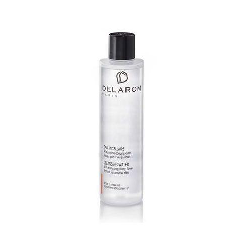 Delarom cleaning and removing oczyszczająca woda do twarzy ze zmiękczającą piwonią (for normal to sensitive skin) 200 ml