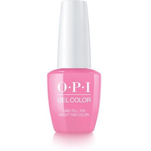 gelcolor lima tell you about this color! żel kolorowy (gcp30) marki Opi