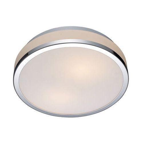 Plafon Lampa Sufitowa Camry 5007 M Okrągła Oprawa Do łazienki Ip44 Chrom Biała Kolor Biały Italux