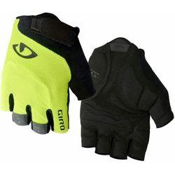 Giro rękawiczki rowerowe męskie Bravo, hilight yellow L