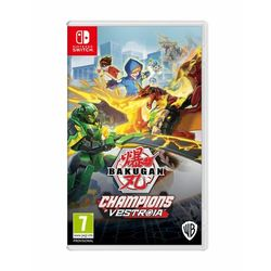 Bakugan: champions of vestroia nintendo switch marki Wb games