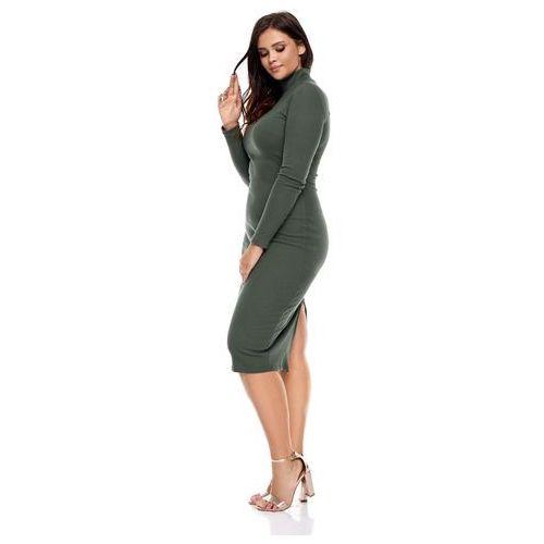 Sukienka Eli w kolorze khaki, kolor zielony