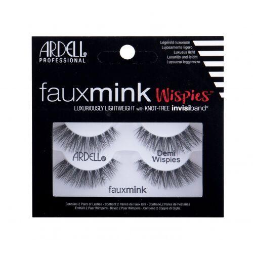 Faux mink demi wispies sztuczne rzęsy 2 szt dla kobiet black Ardell - Promocja