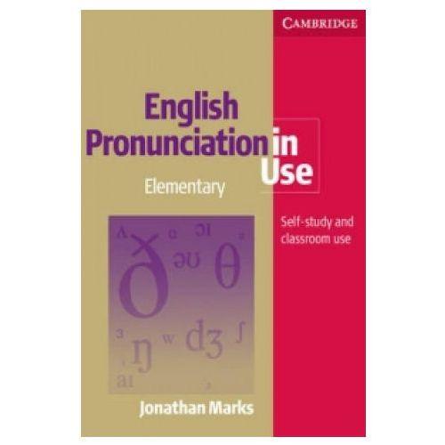 English Pronunciation In Use Elementary Książka Plus 5 Płyt Audio CD, oprawa miękka