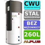 Pompa ciepła do CWU JOULE HeatBank 260l nierdzewka bez wężownicy Wysyłka gratis!, DCEMVH-0260L