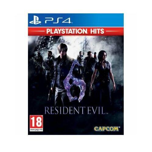 Capcom entertainment Resident evil 6 (ps4)