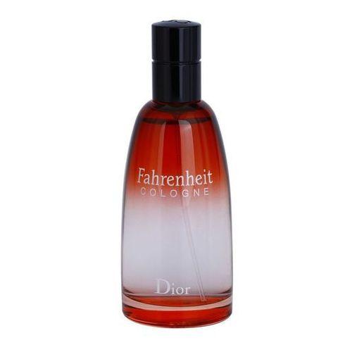 Christian Dior Fahrenheit Cologne woda kolońska 125 ml tester dla mężczyzn