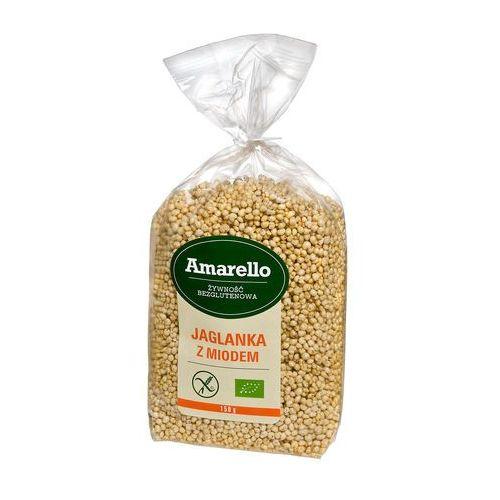 Amarello Jaglanka z miodem bezglutenowa eko 150g - Znakomity rabat
