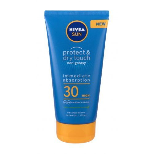 Nivea sun protect & dry touch non-greasy cream-gel spf30 preparat do opalania ciała 175 ml unisex - Znakomity rabat