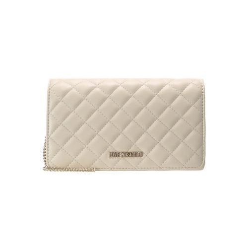 Love Moschino QUILTED CROSSBODY Torba na ramię beige