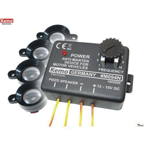 Odstraszacz ultradźwiękowy 4 x piezo Kemo M094N