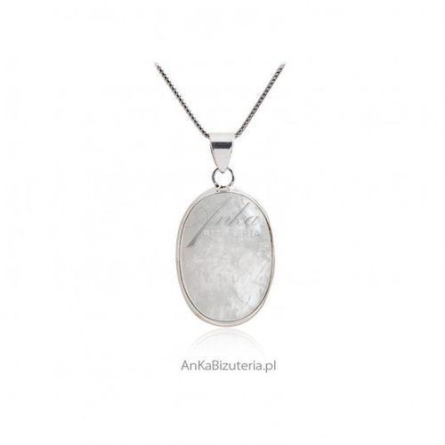 ankabizuteria.pl Biżuteria srebrna z kamieniem księżycowym -rozm. xs