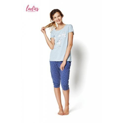 637752c56e80d5 Zobacz ofertę Henderson rakel 35255-50x niebieska piżama damska, Henderson  ladies