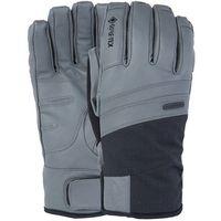 POW Royal GTX +Active Rękawiczki Mężczyźni, szary/czarny M 2021 Rękawiczki skórzane