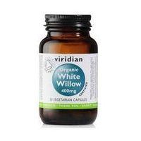 Kapsułki Ekologiczna kora wierzby białej 30 kapsułek Viridian