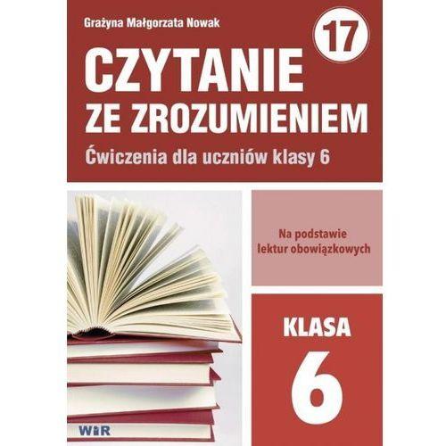 Czytanie ze zrozumieniem dla kl. 6 SP - Grażyna Małgorzata Nowak (70 str.)