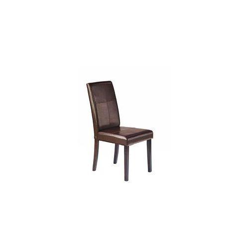 KERRY BIS krzesło wenge/ciemny brąz, kolor brązowy