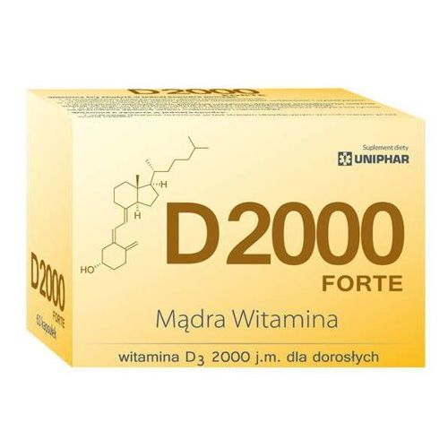Kapsułki D 2000 Forte x 60 kapsułek