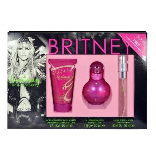 Britney Spears Fantasy zestaw Edp 30ml + 10ml Edp + 50ml Balsam dla kobiet - Promocyjna cena