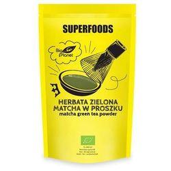 Zielona herbata  BIO PLANET - SERIA SUPERFOODS