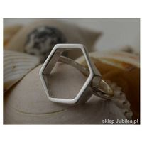 PLASTER MIODU - srebrny pierścionek