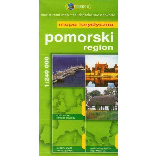Pomorski region mapa turystyczna 1:240 000, Daunpol