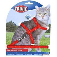 szelki dla kota ze smyczą odblaskowe marki Trixie